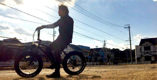 ファットバイク乗ってみた画像