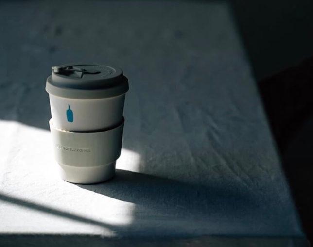 【ブルーボトルコーヒーのエコカップ?何これカワイイ!】